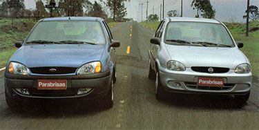 Ford Fiesta vs Chevrolet Corsa