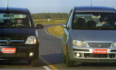 Chevrolet Meriva vs Fiat Idea