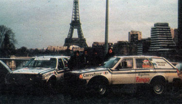 Rally Paris Dakar 1987
