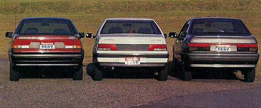 Ford Galaxy vs Peugeot 405 vs Renault 21
