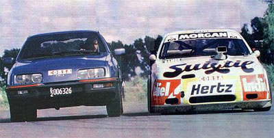 Ford Sierra XR4 vs TC-2000