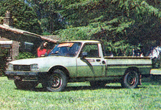 Peugeot 504 Diesel Pick Up 1.3 Tn
